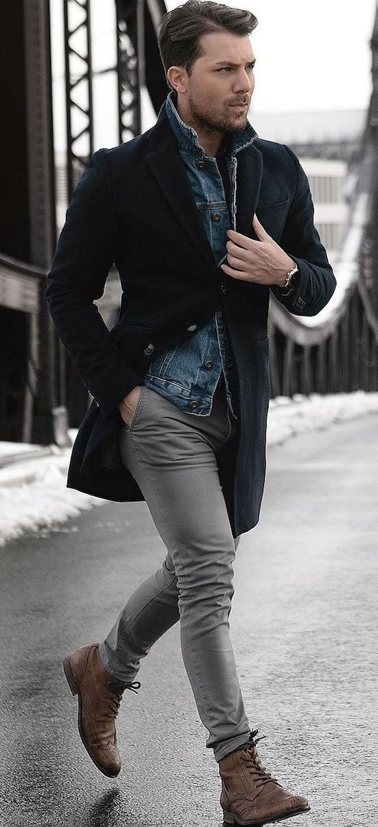 5 Fall Winter Essentials for Men Who Like To Be Warm But Modern. What to do ...