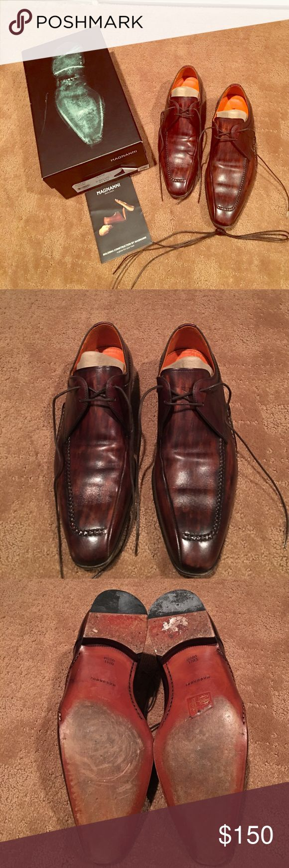 Men's Magnanni shoes size 8 Men's Magnanni shoes size 8 used but in grea...