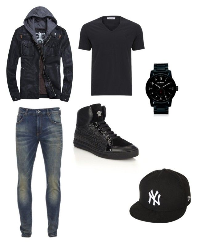 """""""Casual outfits"""" by daisytroyer on Polyvore featuring Versace, Scotch & Soda, Ni..."""