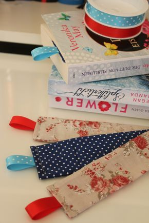 Luckily, the good old bookmarks are not completely extinct yet ...