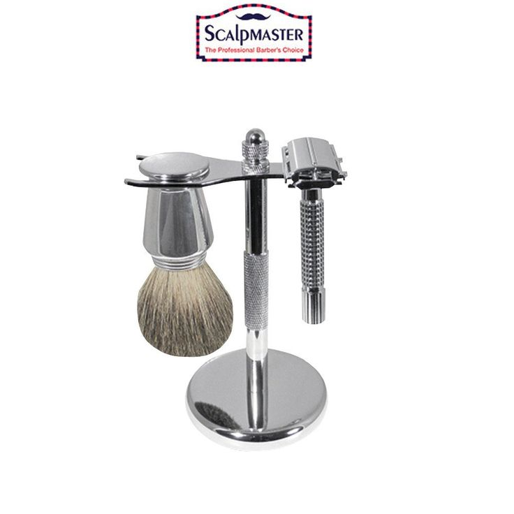 $31.95  SCALPMASTER CHROME SHAVING SET  Board: Men's Grooming | Shaving | Man Sc...