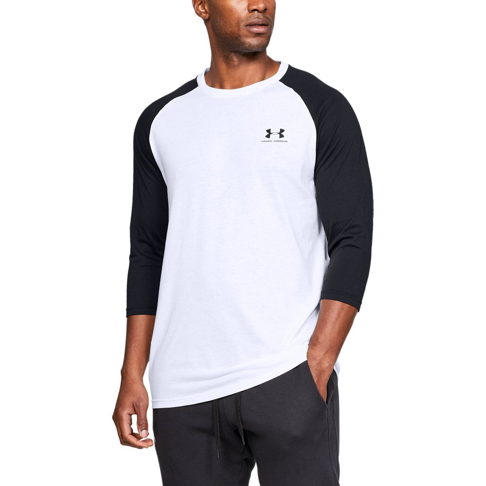 Under Armour Mens Sportstyle Left Chest - White LG