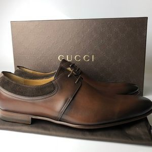Gucci Betis Glamour Cocoa Brown Shoes G9.5 #fashion #clothing #shoes #accessorie...