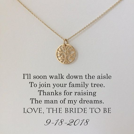 Mother of the Groom Necklace - Mother of the Groom Gifts - Family Tree, H ...