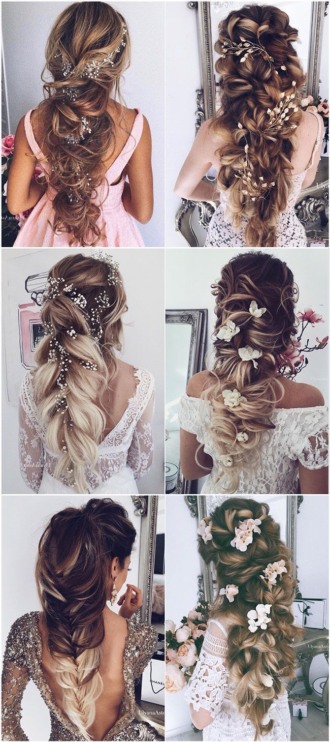 62 wedding hairstyles by Ulyana Aster to inspire you #aster #high ...