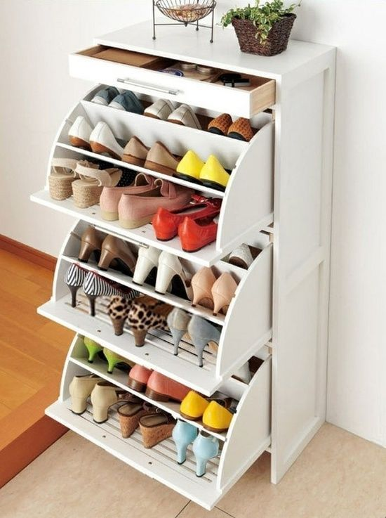 How To Use IKEA Products To Build Shoe Storage Systems - Home And Decoration