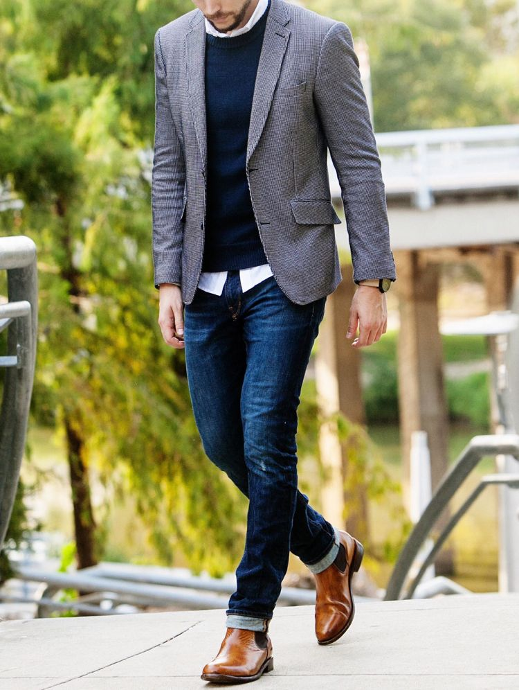 Business Casual for Men - Knigge and examples of a successful outfit
