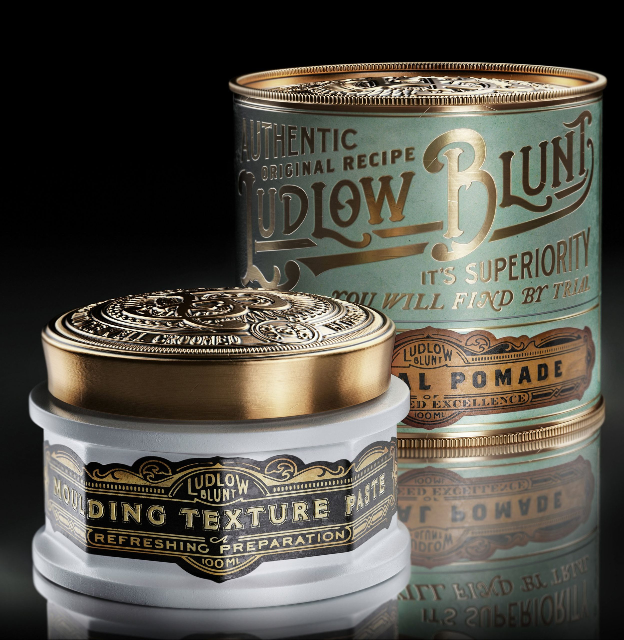 Men's grooming products with awesome packaging #packaging #package #packagingdes...