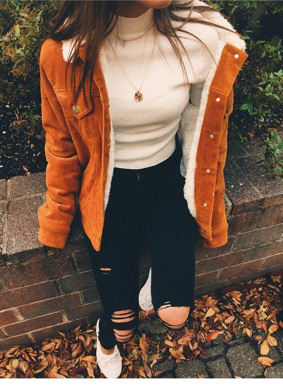 Perfect autumn outfit with a nice jacket - # autumn outfit #jacket #with #perfect