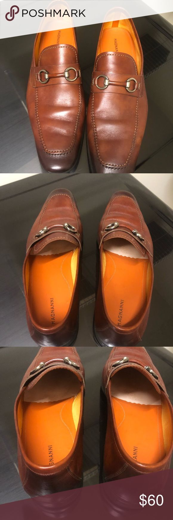 Men's Magnanni loafers Very gently used Men's Magnanni loafers.  Size 13. Ve...