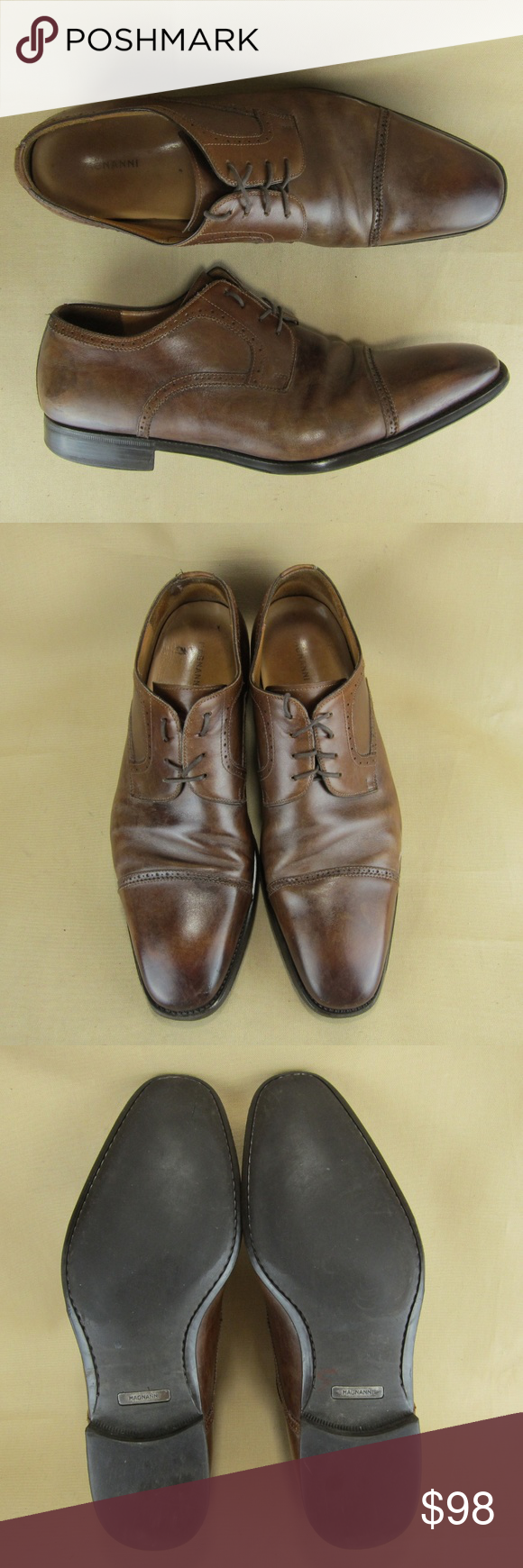 Magnanni  US 14 D Men Oxford Cap Toe Dress Spain You are purchasing a pair of Ma...