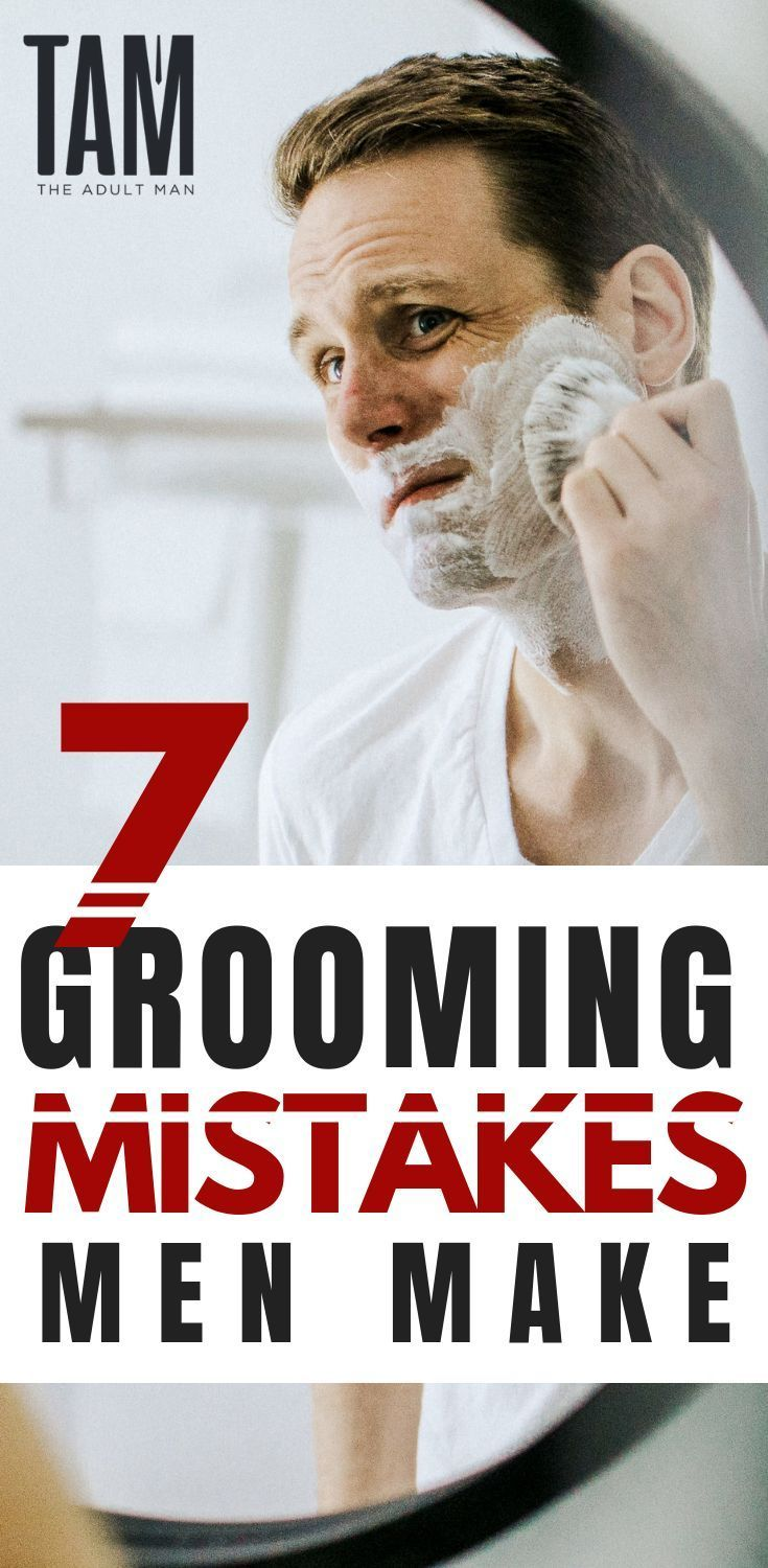 Men's grooming tips - Click here to STOP making the same men's grooming mistakes...