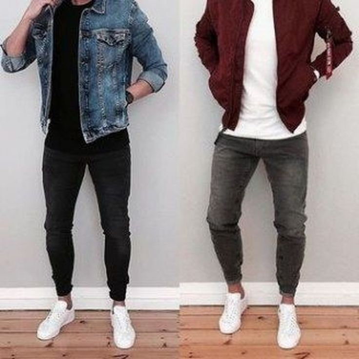 20+ Comfy Men Outfit Ideas With White Sneaker