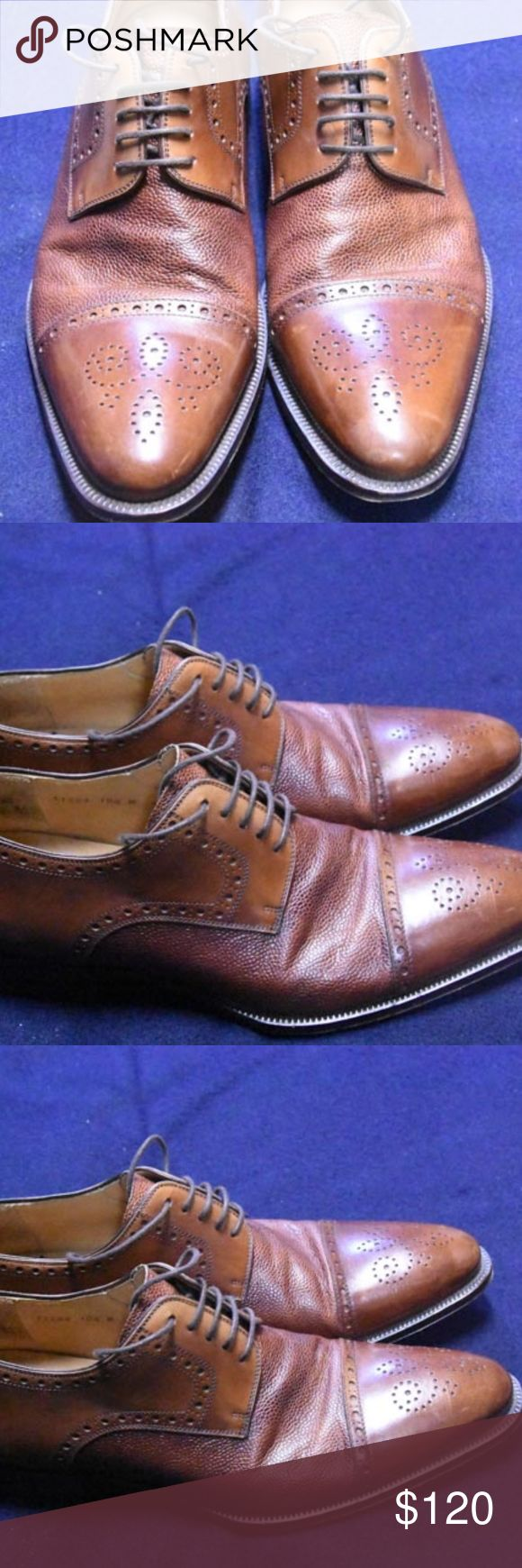 Magnanni shoes I bought these for my wedding and have worn them only a couple of...