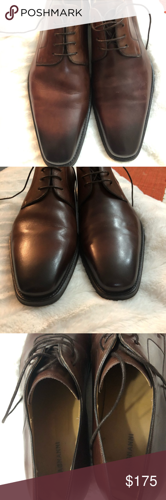 MAGNANNI MEN SHOES MAGNANNI made in Spain authentic leather  on the top  looks l...