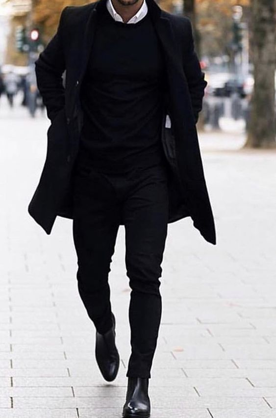 Winter Style - All black outfits for men - Outfits for teenagers - # ...