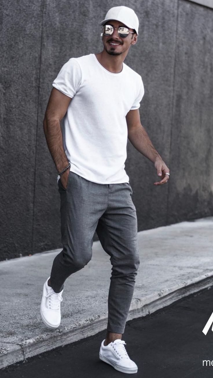 5 jogger outfits for men #joggers #mens #fashion #street #sty