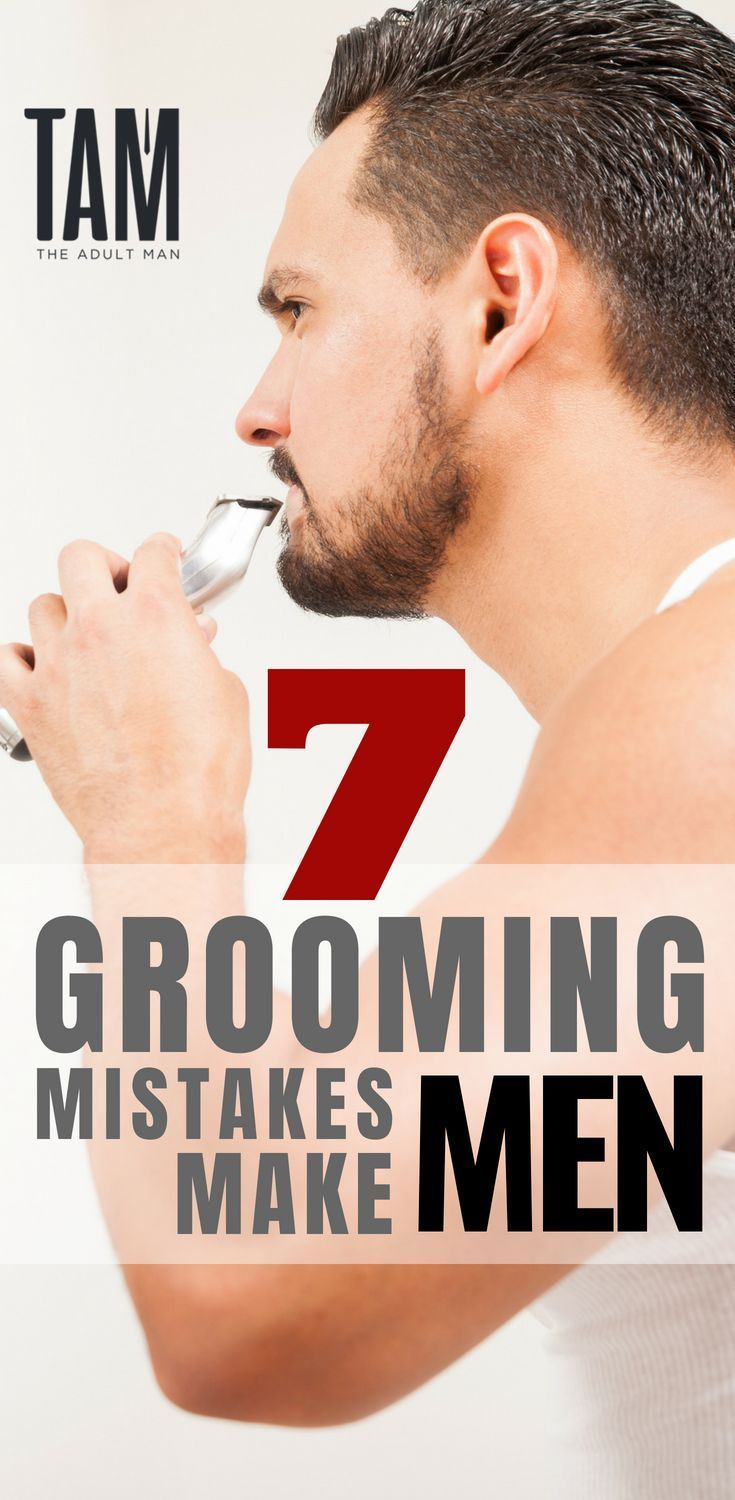 Click here to STOP making the same men's grooming mistakes! Learn the 7 Top Groo...