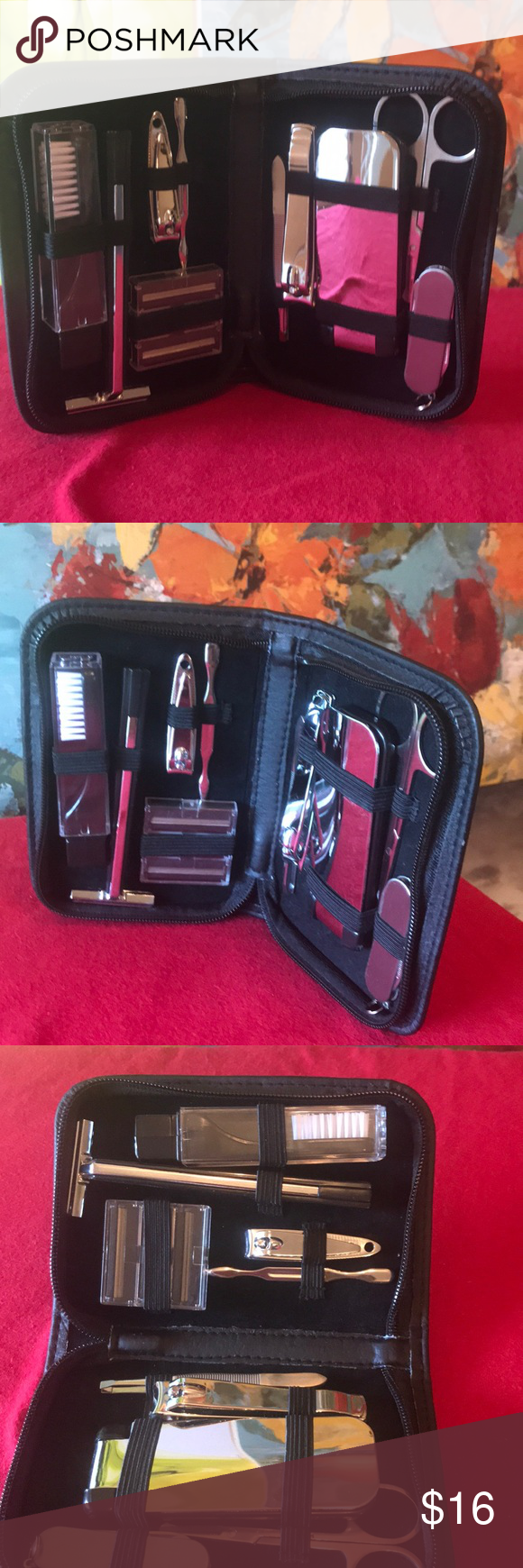 Guess travel grooming kit New grooming kit only the zipper on the case not worki...