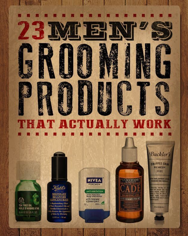 23 Men's Grooming Products That Actually Work. Try these amazing products to ach...