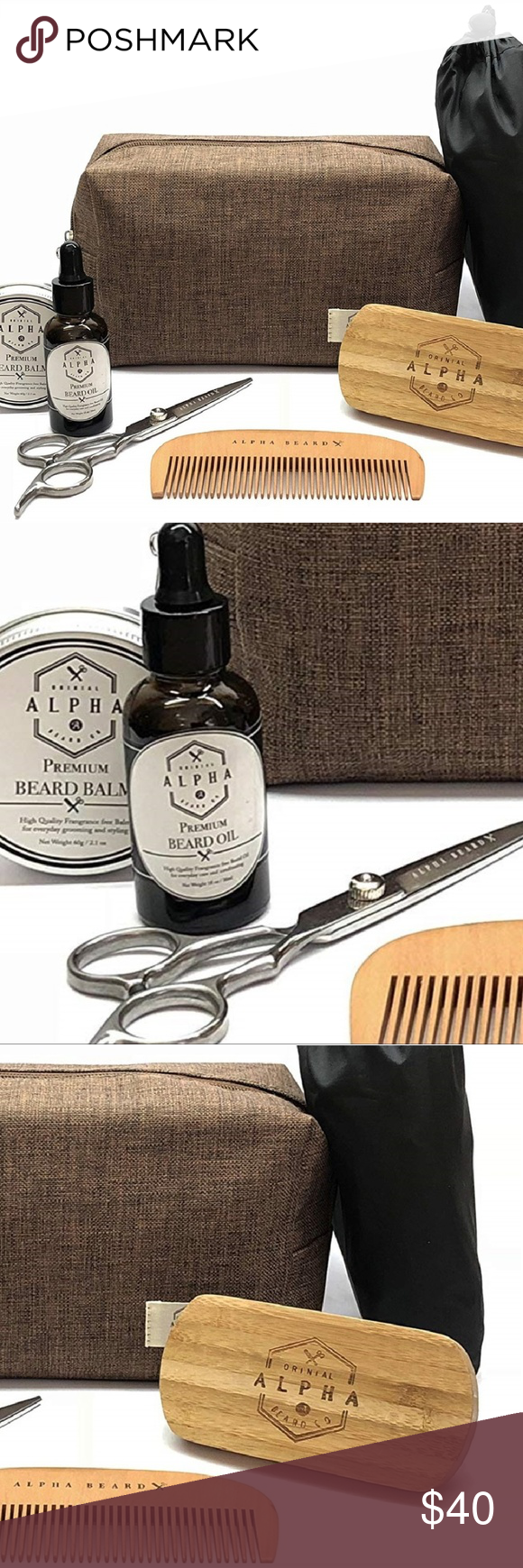 NEW Top Quality Beard Grooming Kit For Men NEW Top Quality Beard Grooming Kit Fo...