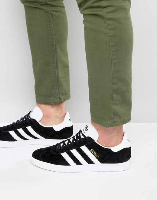 adidas Originals Gazelle sneakers in black bb5476