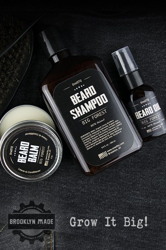 BIG FOREST BEARD CARE Designed to improve beard growth for a thicker, more lustr...
