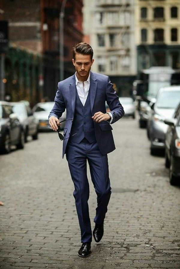 Italian suit stands for impeccable elegance