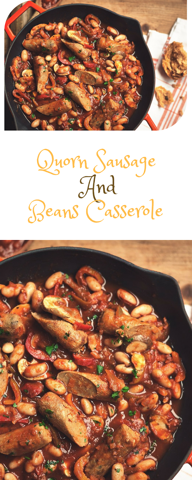 Quorn Sausage And Beans Casserole Meat Free Lifestyle
