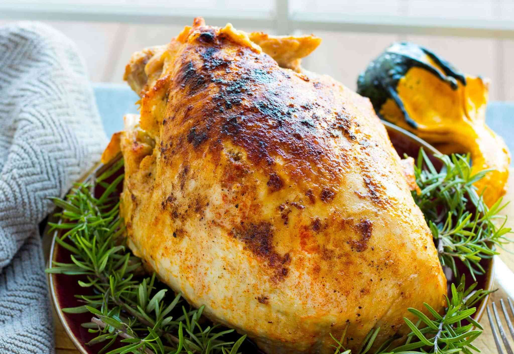 Need more white turkey meat for Thanksgiving dinner? Free up oven space with thi...