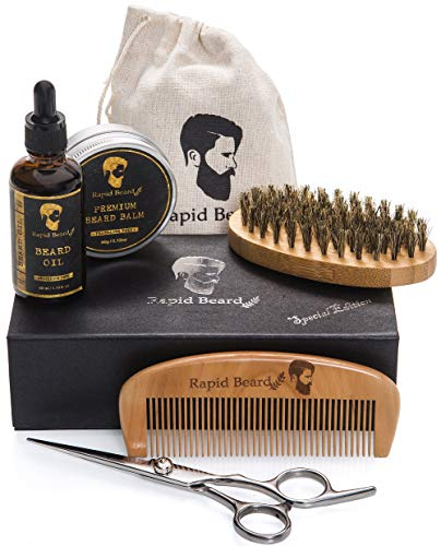 Beard Grooming & Trimming Kit for Men Care Best Offer - LuxClout.com