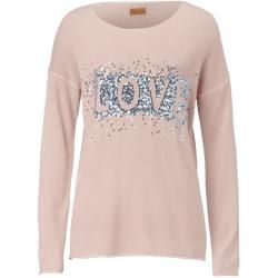 Reduced knit sweater for women