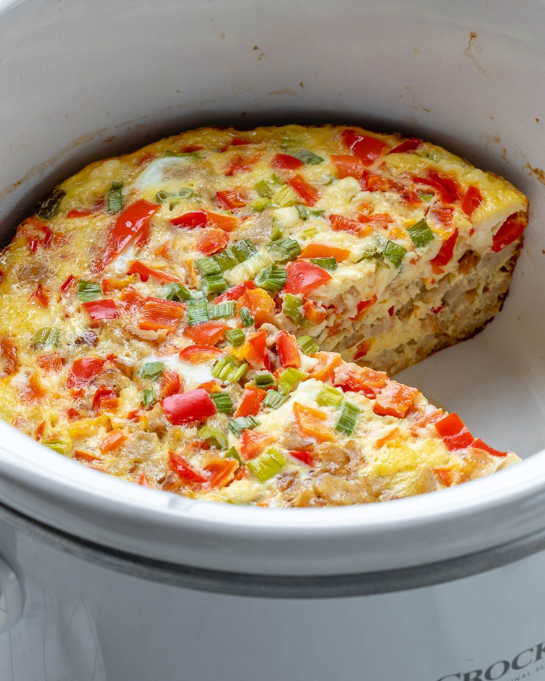 Crockpot Egg Casserole for Clean Eating on a Budget!