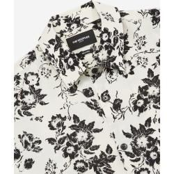 The Kooples white printed shirt with classic collar - Damenthekooples.com