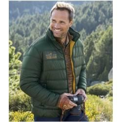 Reduced lightweight quilted jackets for men
