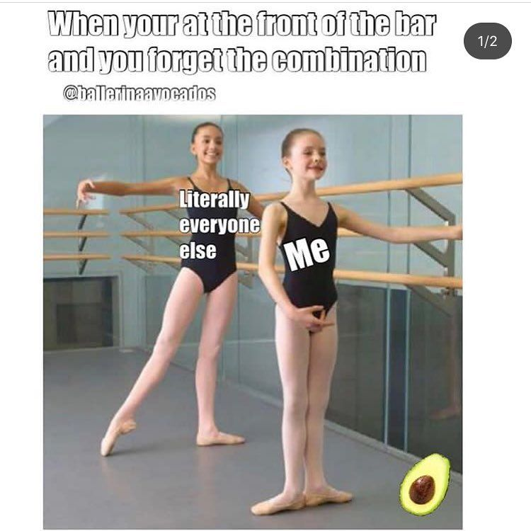 ballerinaavocados is the best meme account on insta no one can change my mind