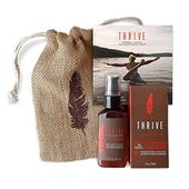 Thrive Natural Shave & Restore Mens Grooming Kit  2 Piece Grooming Gift Set with...
