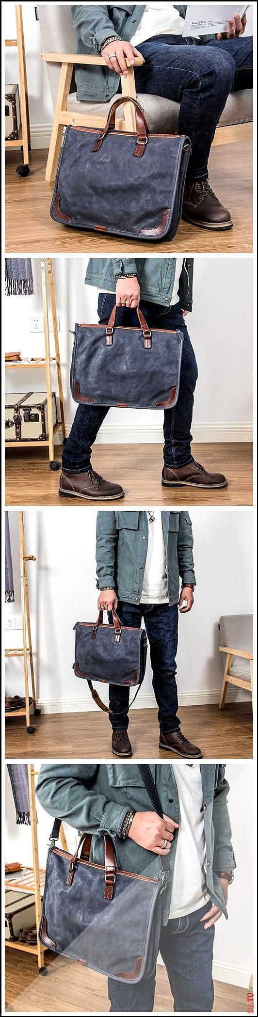 Handmade 13 39 39 Laptop Bag Men 39 s Leather Briefcas - Handmade 13 039 039 Lap...