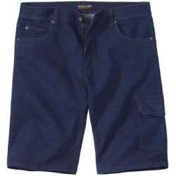 Reduced stretch jeans for men