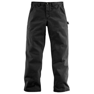 Carhartt Washed Twill Relaxed Fit Dungarees for Men - Army Green - 30x32