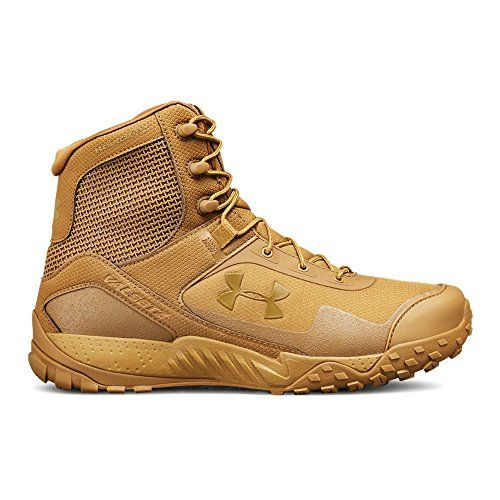 Under Armour Men's Valsetz RTS 1.5 Military and Tactical Boot Ridge Reaper (200)/Coyote Brown, 9.5