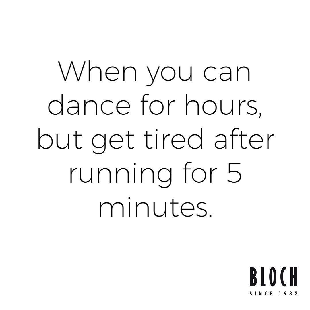 'When you can dance for hours but get tired after running for 5 minuets' Pin our...