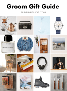 Bridal Musings Holiday Gift Guide: Cool Gifts for Cool Grooms