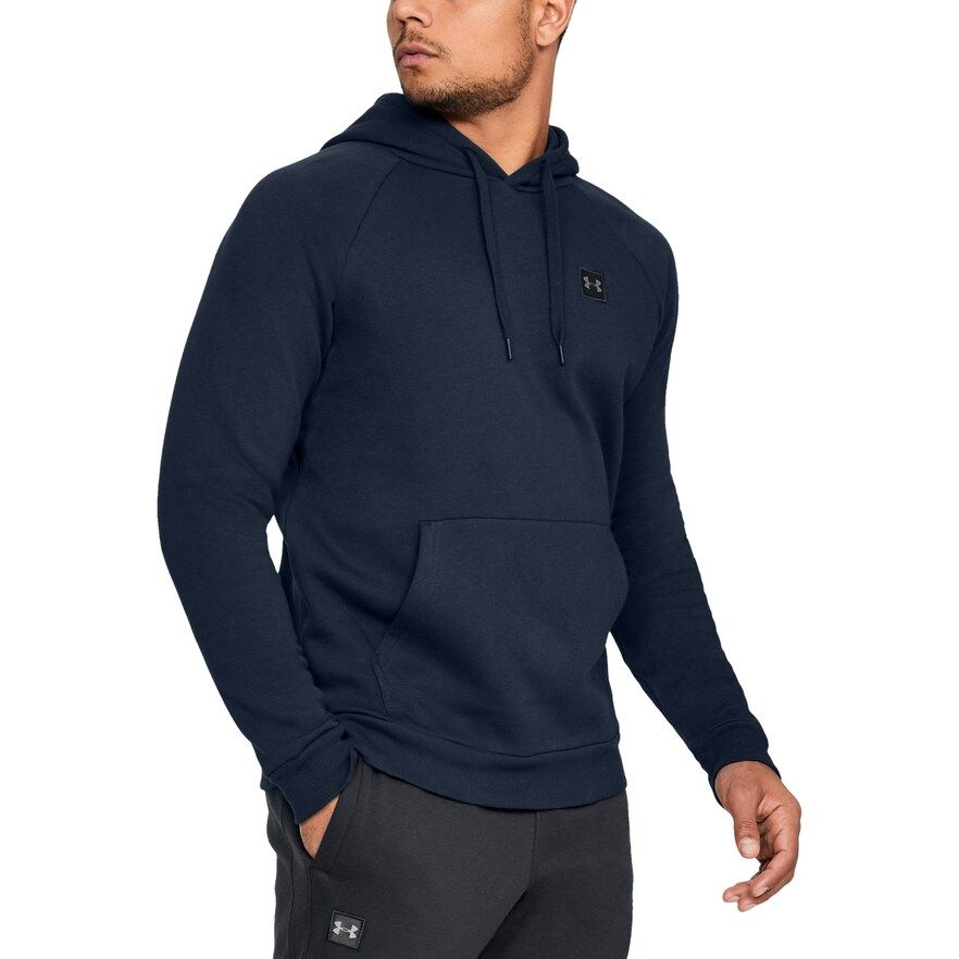 Big & Tall Under Armour Rival Fleece Hoodie, Men's, Size: Large Tall, Dark Blue