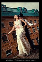 Wedding Chicago gangsters style.. omg babe! Let's do it!   - My new favorite pla...