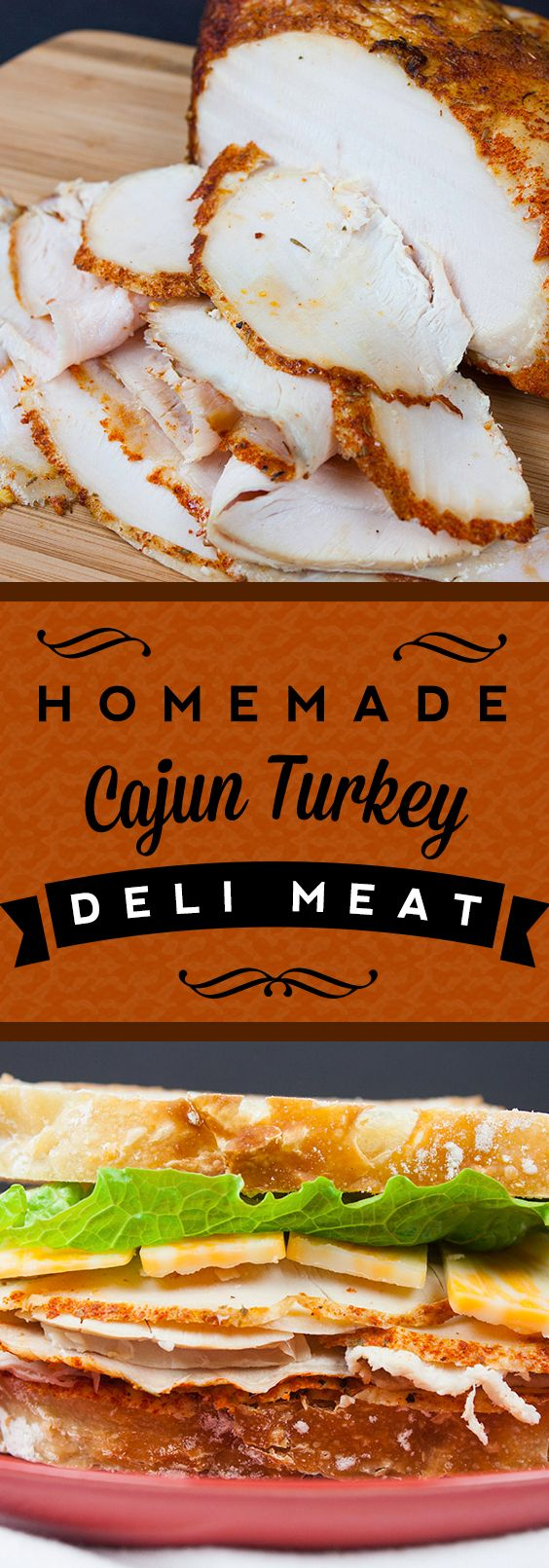 Homemade Cajun Turkey Deli Meat - You will never pay those outrageous prices aga...