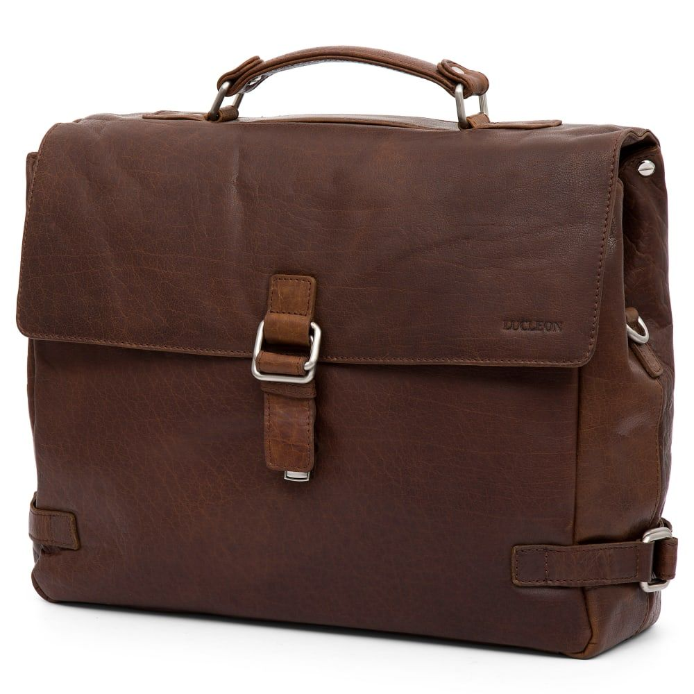 Montreal Luxury Leather Tan Satchel Bag | In stock! | Lucleon