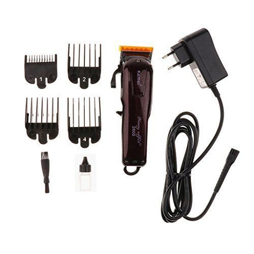 Buy Rechargeable Electric Shaver Razor Beard Hair Clipper Trimmer Grooming Kit Set DIY for Men