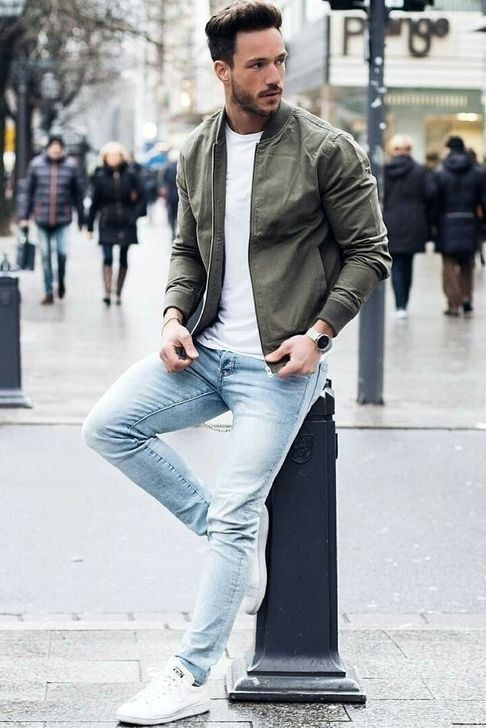50+ Perfect Casual Outfits With White Sneakers For Handsome Man - Outfits Styler