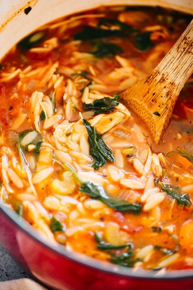 Leftover Turkey Soup Recipe with Orzo | Thanksgiving Recipe